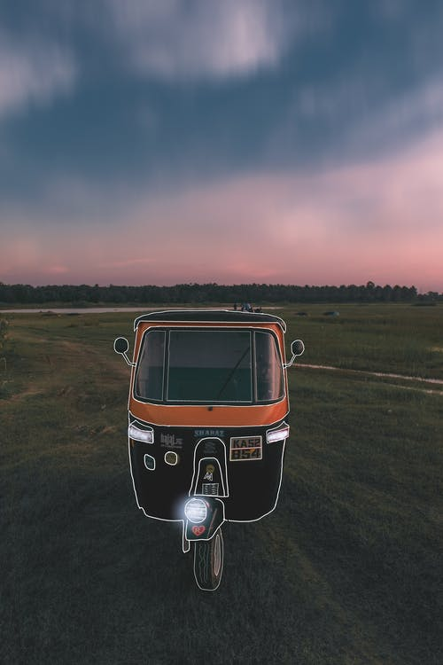 Free stock photo of 4k wallpaper, asia, auto rickshaw