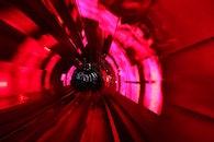 tunnel, long-exposure, shanghai