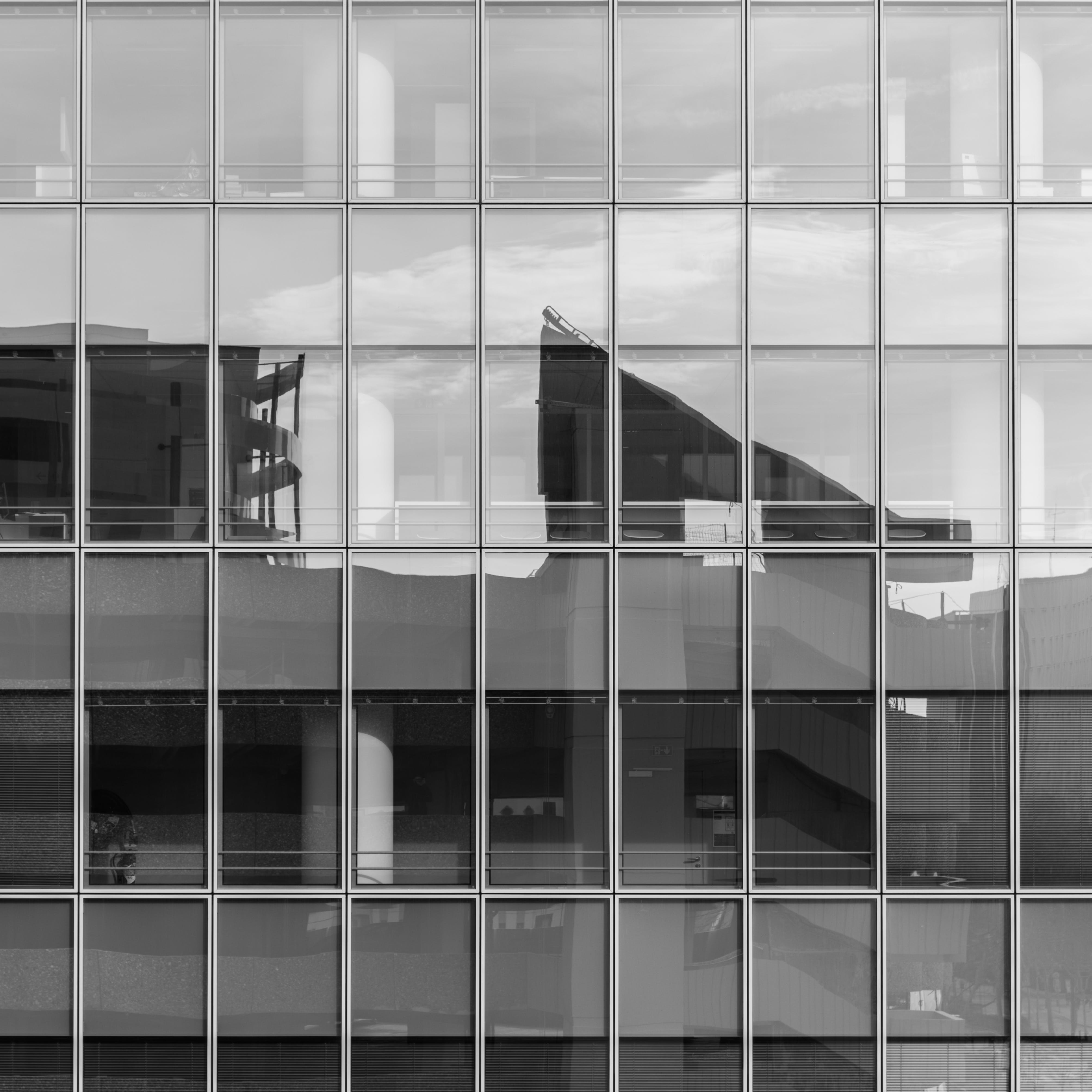 Free stock photo of architectural design, black and white, build, building