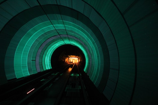 Free stock photo of tunnel, shanghai