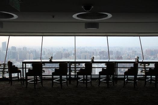 Free stock photo of city, skyline, shanghai, New World Radisson Blue Hotel