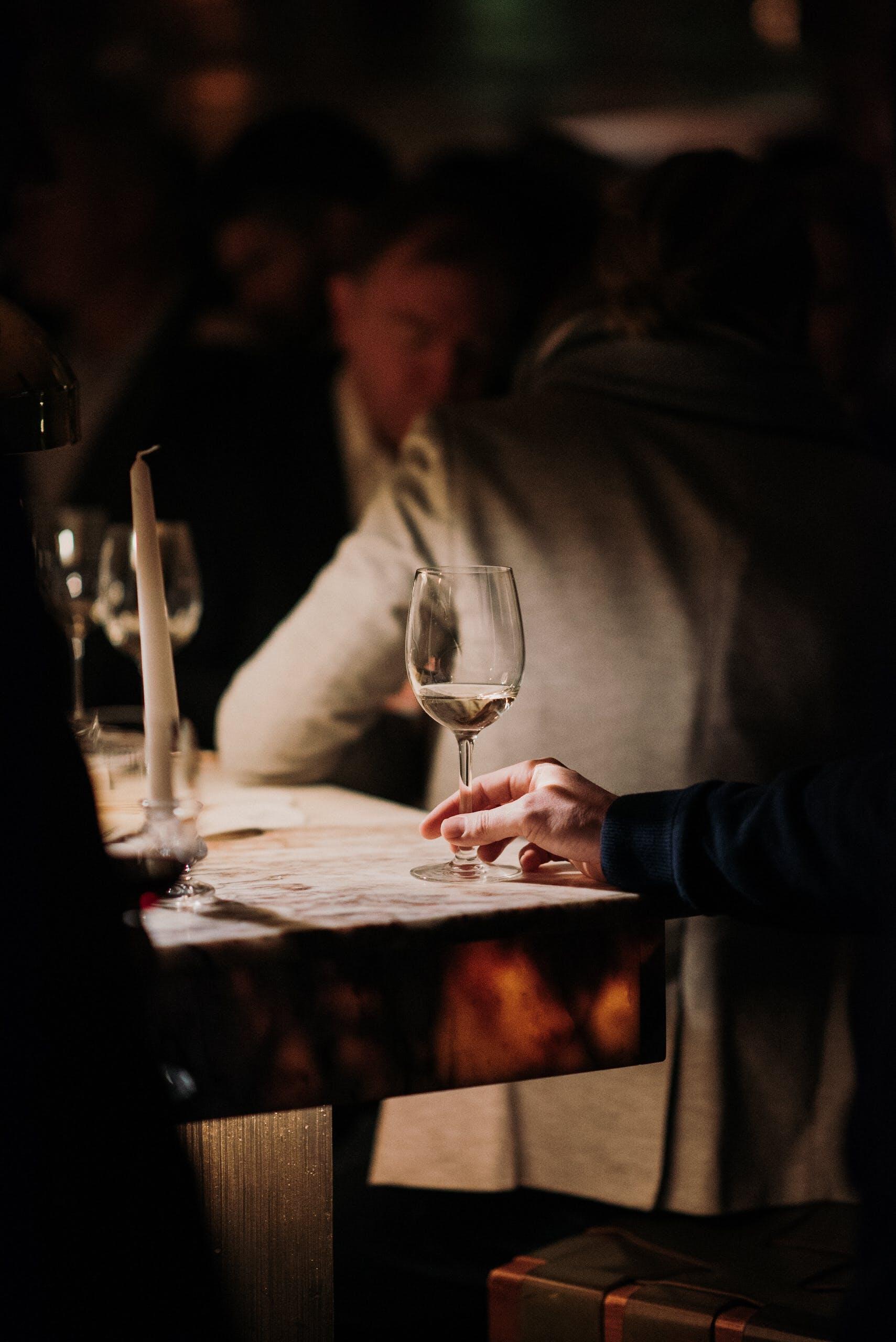 Foto d'estoc gratuïta de cava, clar, concentrar-se, Copa de vi