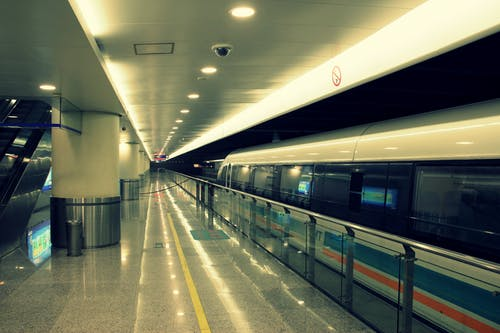 Gratis stockfoto met openbaar vervoer, shanghai, transrapid