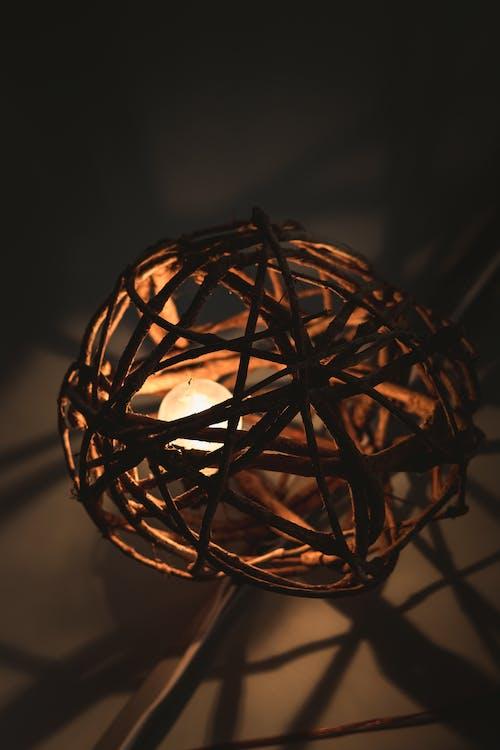 光, 吊燈, 圓形的, 工匠 的 免费素材照片