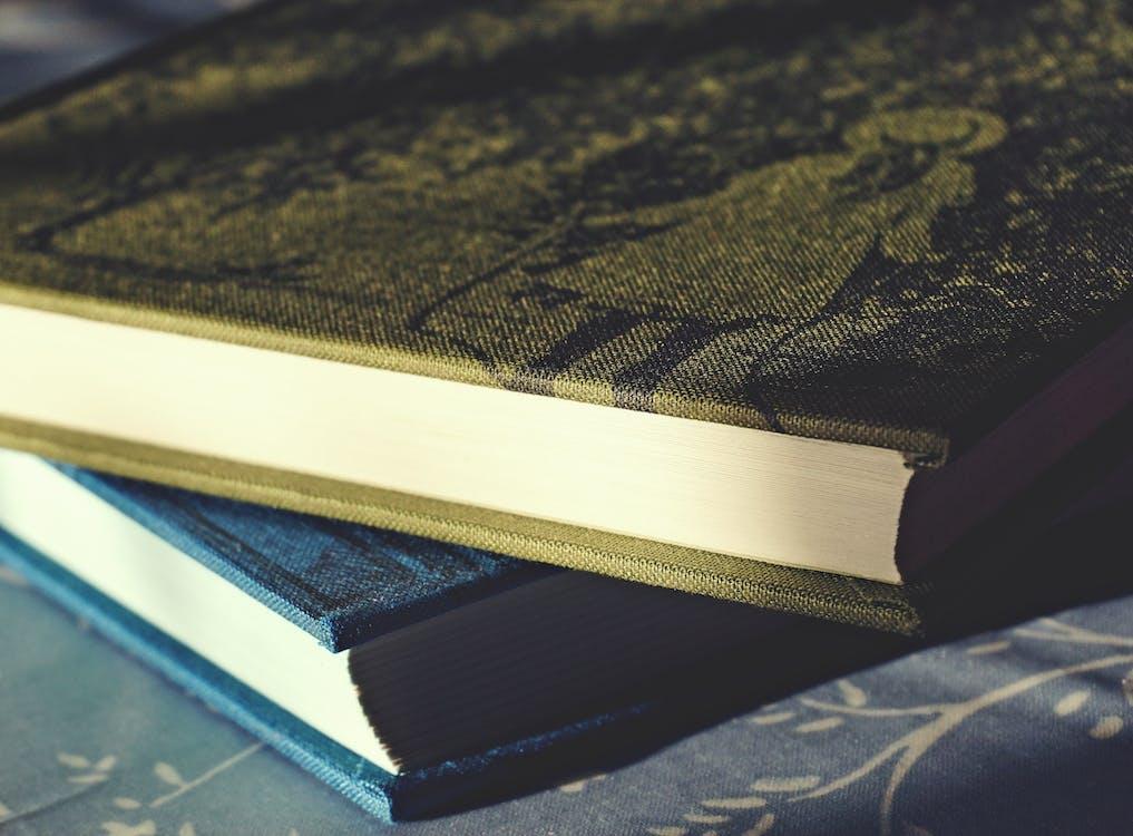 bìa sách, bộ sách, cận cảnh