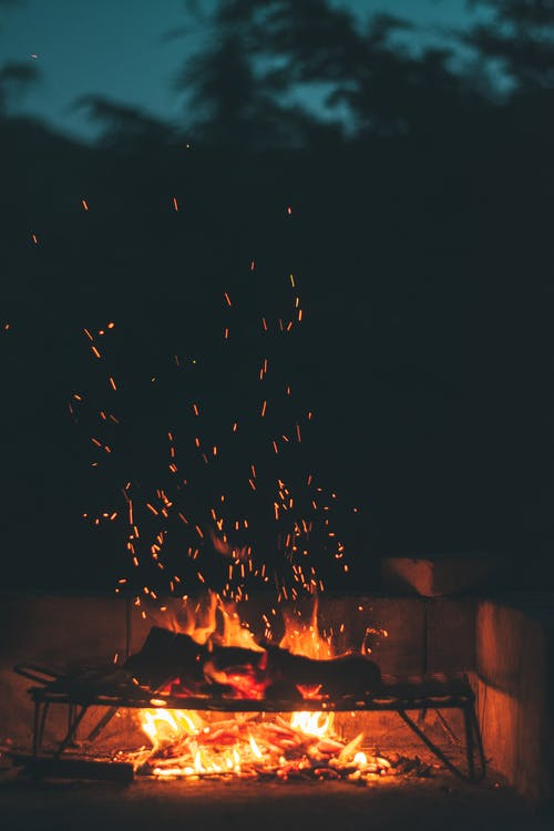 Free stock photo of fire