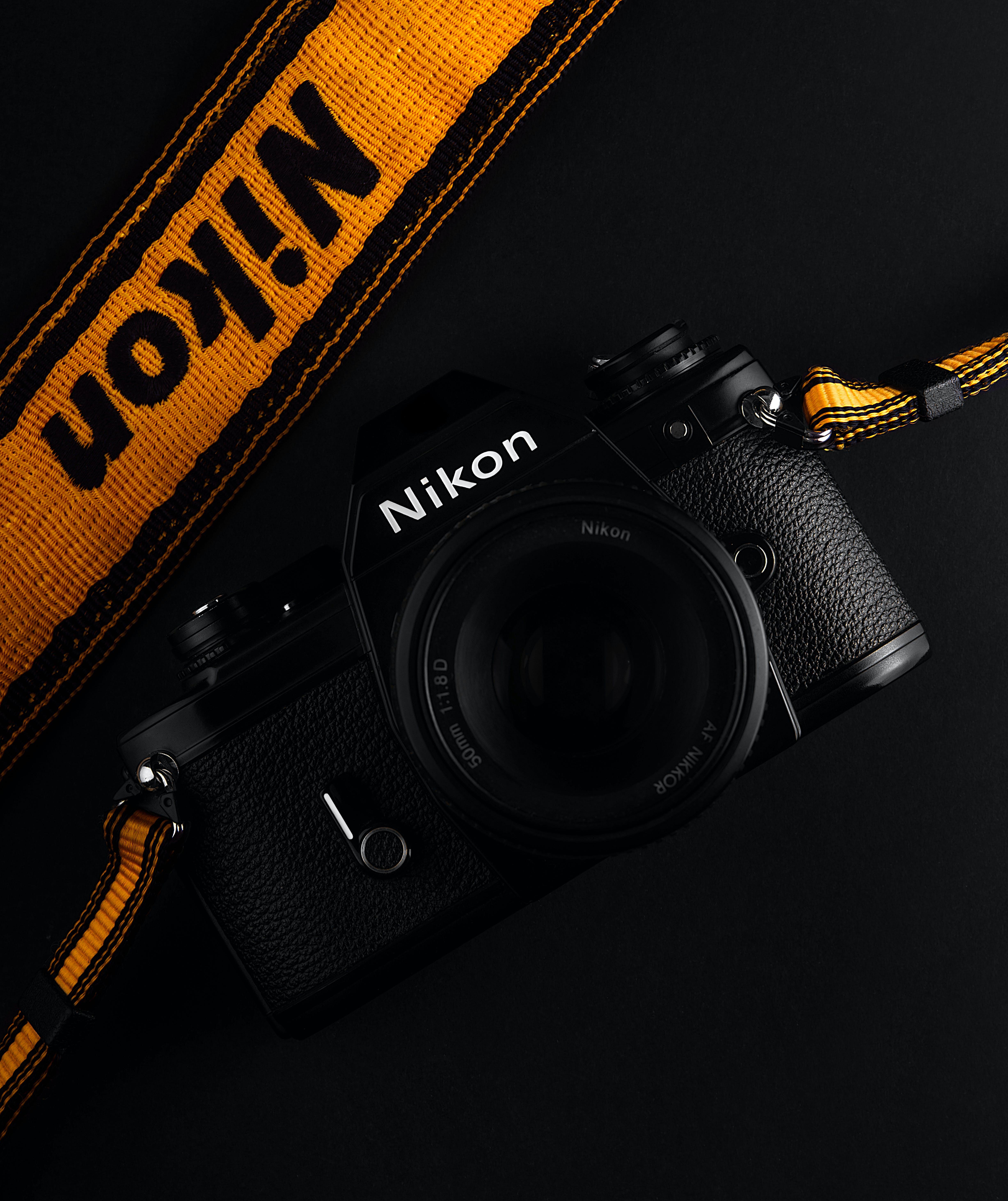 Foto stok gratis 35mm, kamera, kunci rendah, nikon