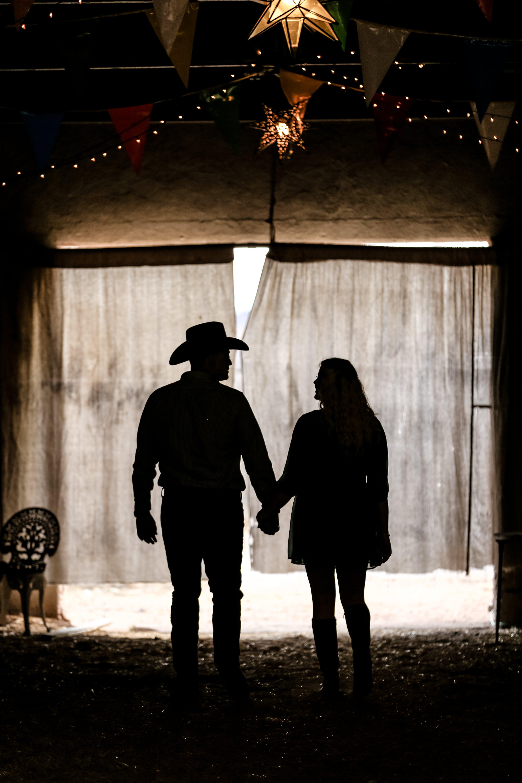 Photos gratuites de à contre-jour, couple, ensemble, exploitation agricole