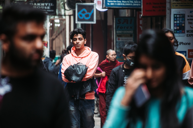 Δωρεάν στοκ φωτογραφιών με αστική φωτογραφία, αυτοπροσωπογραφία, καλλιτέχνης του δρόμου, λειτουργία πορτρέτου