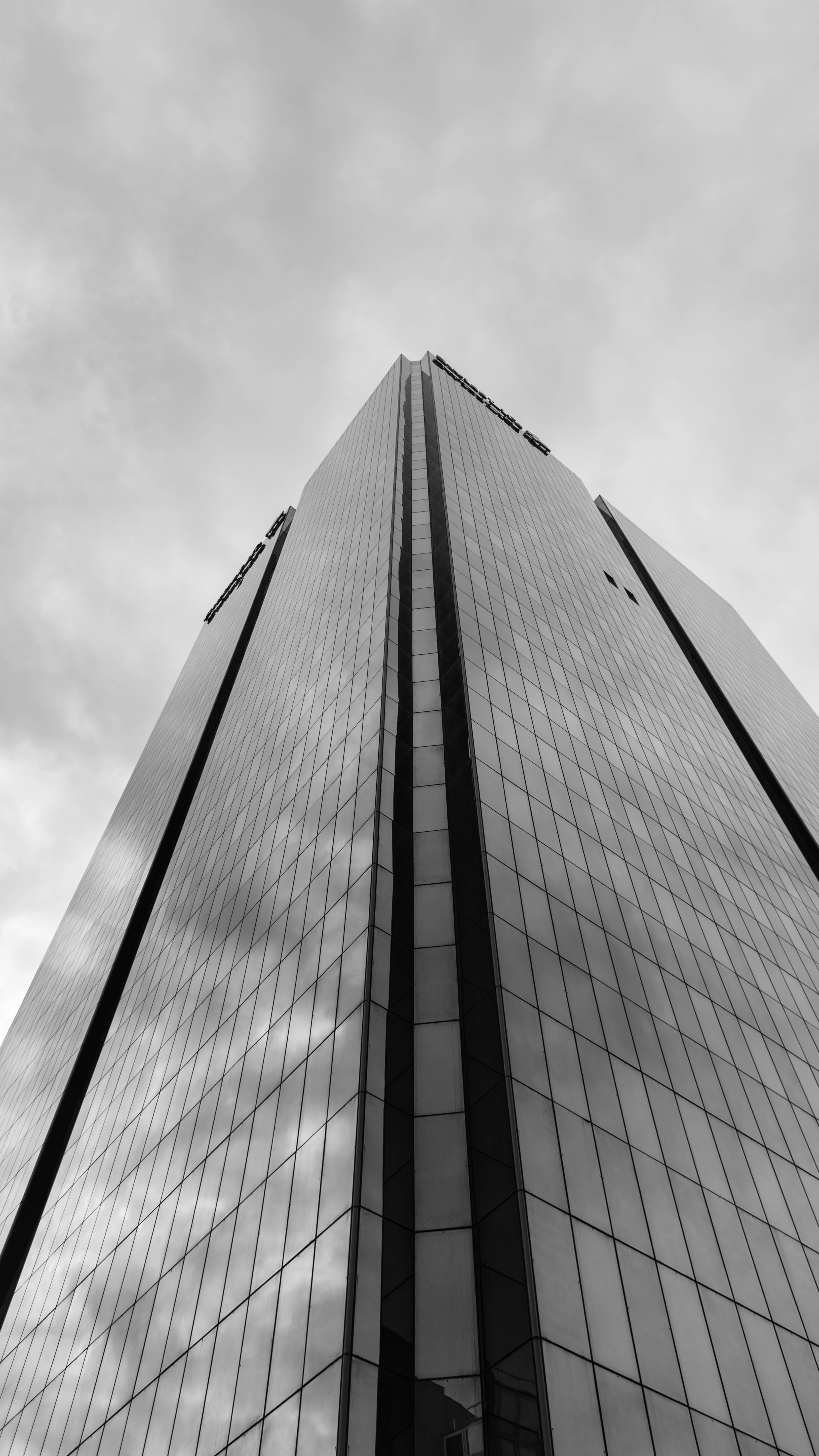 Free stock photo of blackandwhite, buildings, gratteciel, lyon
