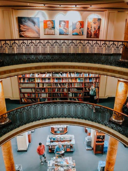 Gratis arkivbilde med arkitektonisk design, arkitektur, bibliotek, bokhandel