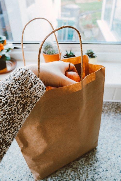 Základová fotografie zdarma na téma jídlo, papírová taška, potraviny