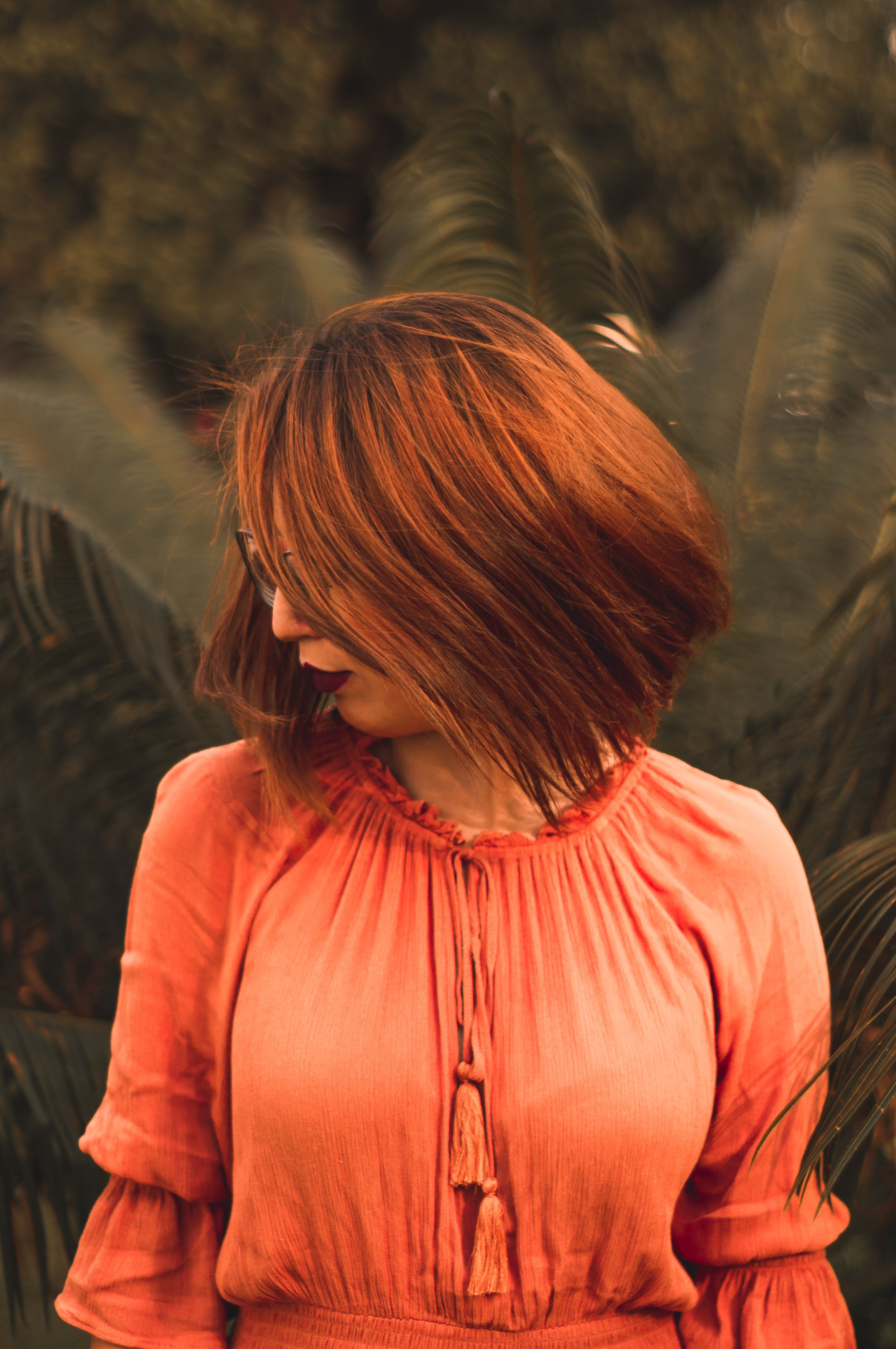 Free stock photo of red hair