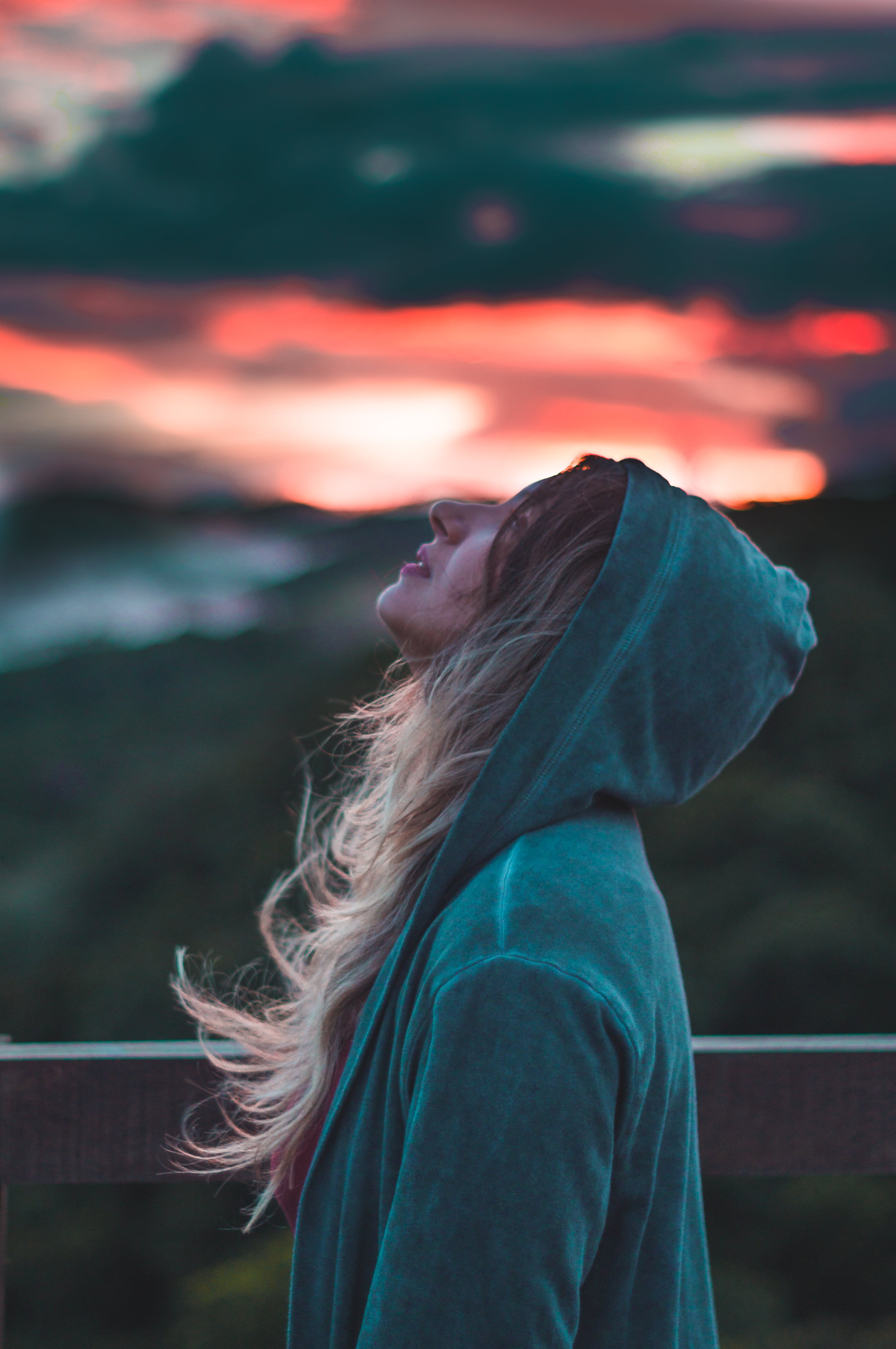 Free stock photo of ash, blonde, blowing, chill