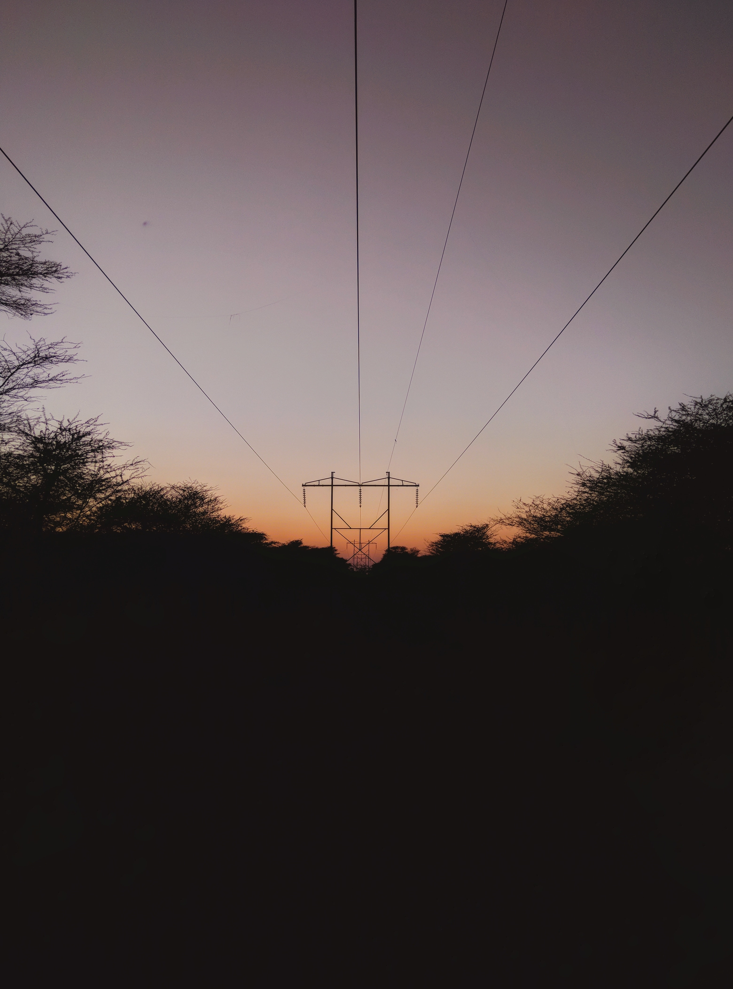 Free stock photo of atmospheric evening, electric current, electric lines