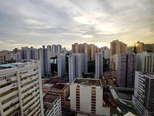 Δωρεάν στοκ φωτογραφιών με αστικός, γραμμή ορίζοντα, ζωή στην πόλη, κέντρο πόλης