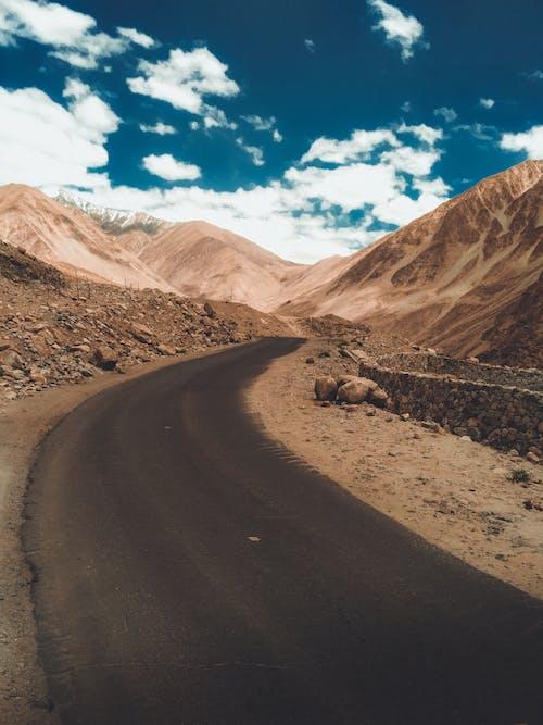 Imagine de stoc gratuită din cer albastru, curbate, ladakh, nori
