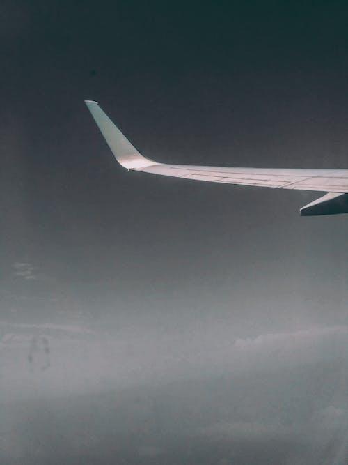 Imagine de stoc gratuită din avion, călătorie în spațiu, cer senin