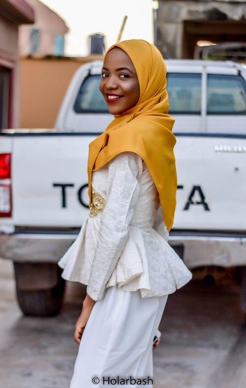 Free stock photo of headscarf, hijab, nigerian, portrait