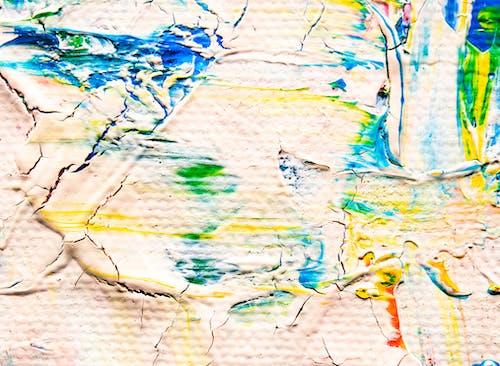 丙烯酸塗料, 丙烯酸樹脂, 帆布, 抽象繪畫 的 免费素材照片
