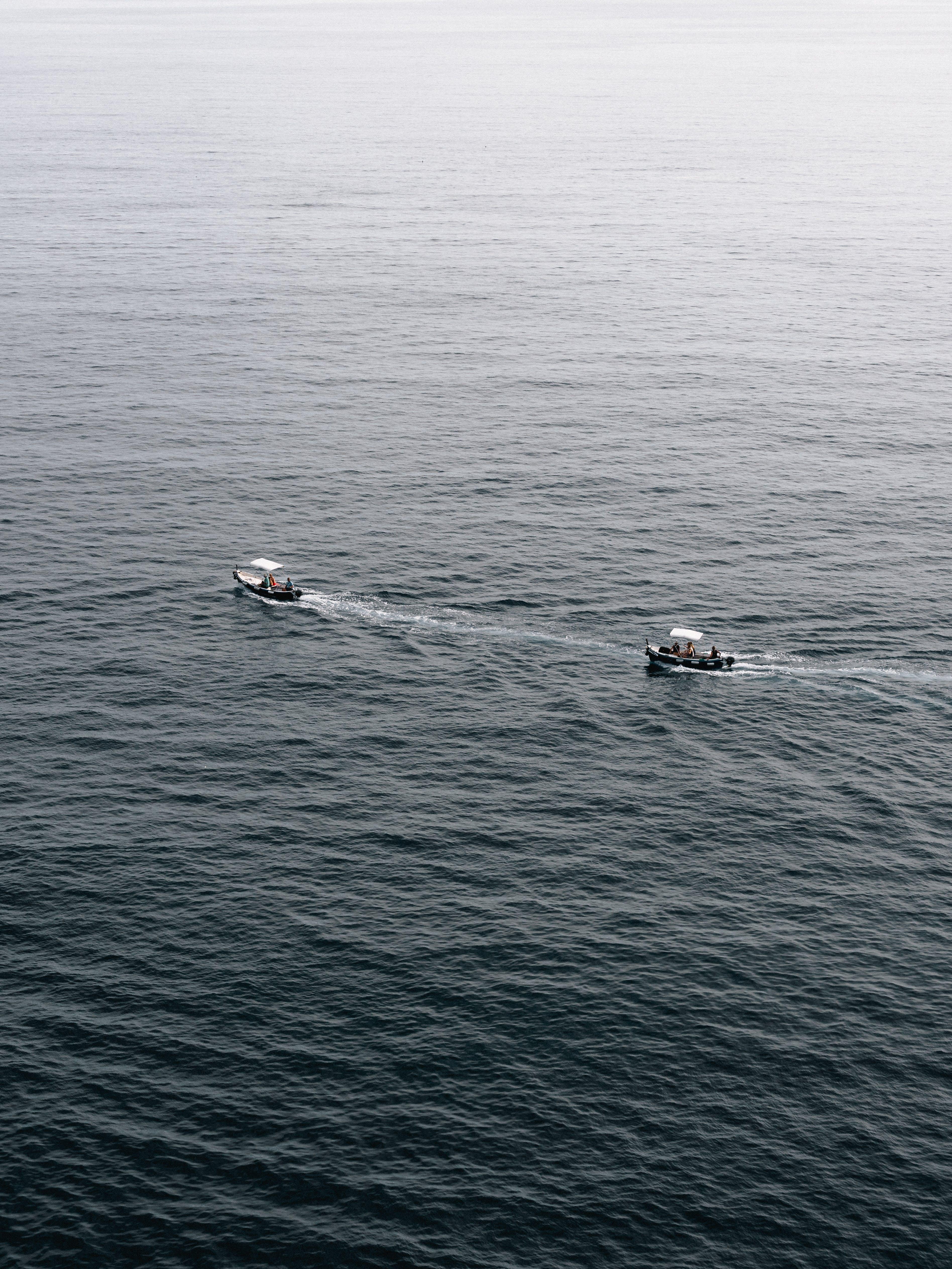 čluny, denní světlo, dopravní systém