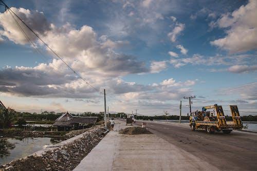 Бесплатное стоковое фото с дорога, поездка