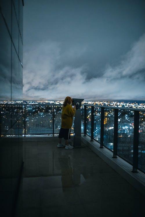 Foto stok gratis air, angin ribut, Arsitektur, awan