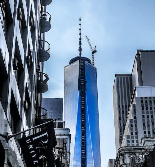 Základová fotografie zdarma na téma 1 WTC, architektura, krásný pohled, Manhattan