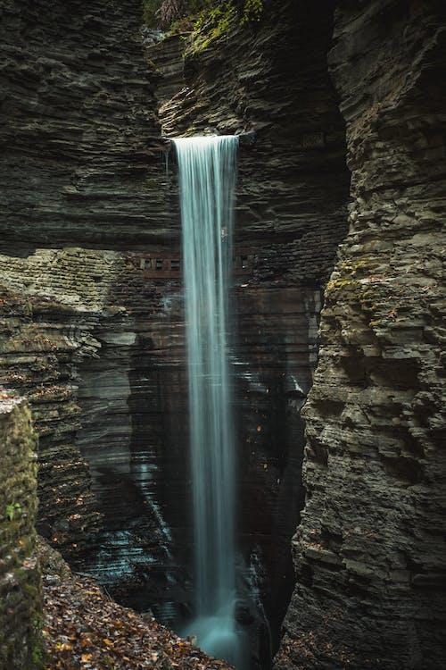 cailloux, cascade, cascades