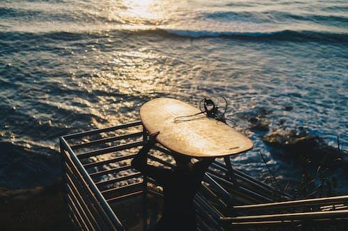Δωρεάν στοκ φωτογραφιών με ακτή, αντανάκλαση, απόγευμα, αυγή