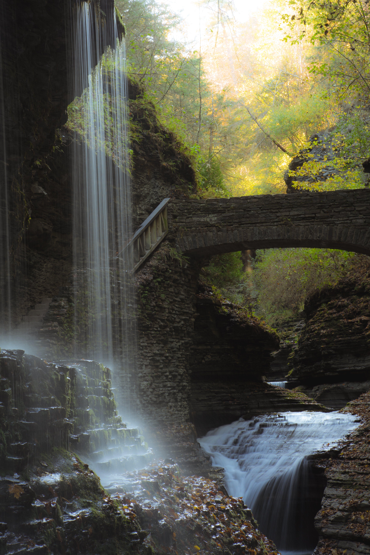 คลังภาพถ่ายฟรี ของ กระแสน้ำ, ทัศนียภาพ, ธรรมชาติ, น้ำตก