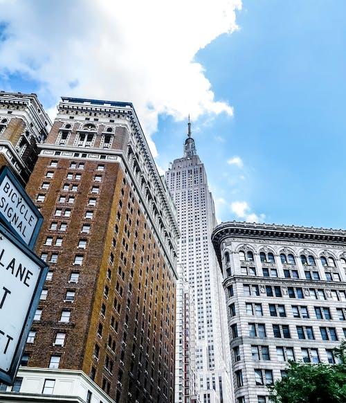 Základová fotografie zdarma na téma apartmány, architektura, Empire State Building, město