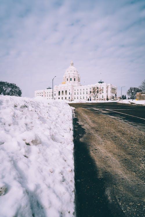 Foto d'estoc gratuïta de arquitectura, carretera, congelat, constipat