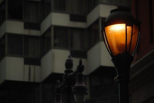 Безкоштовне стокове фото на тему «апельсин, вид на місто, вогні міста, Вулиця»