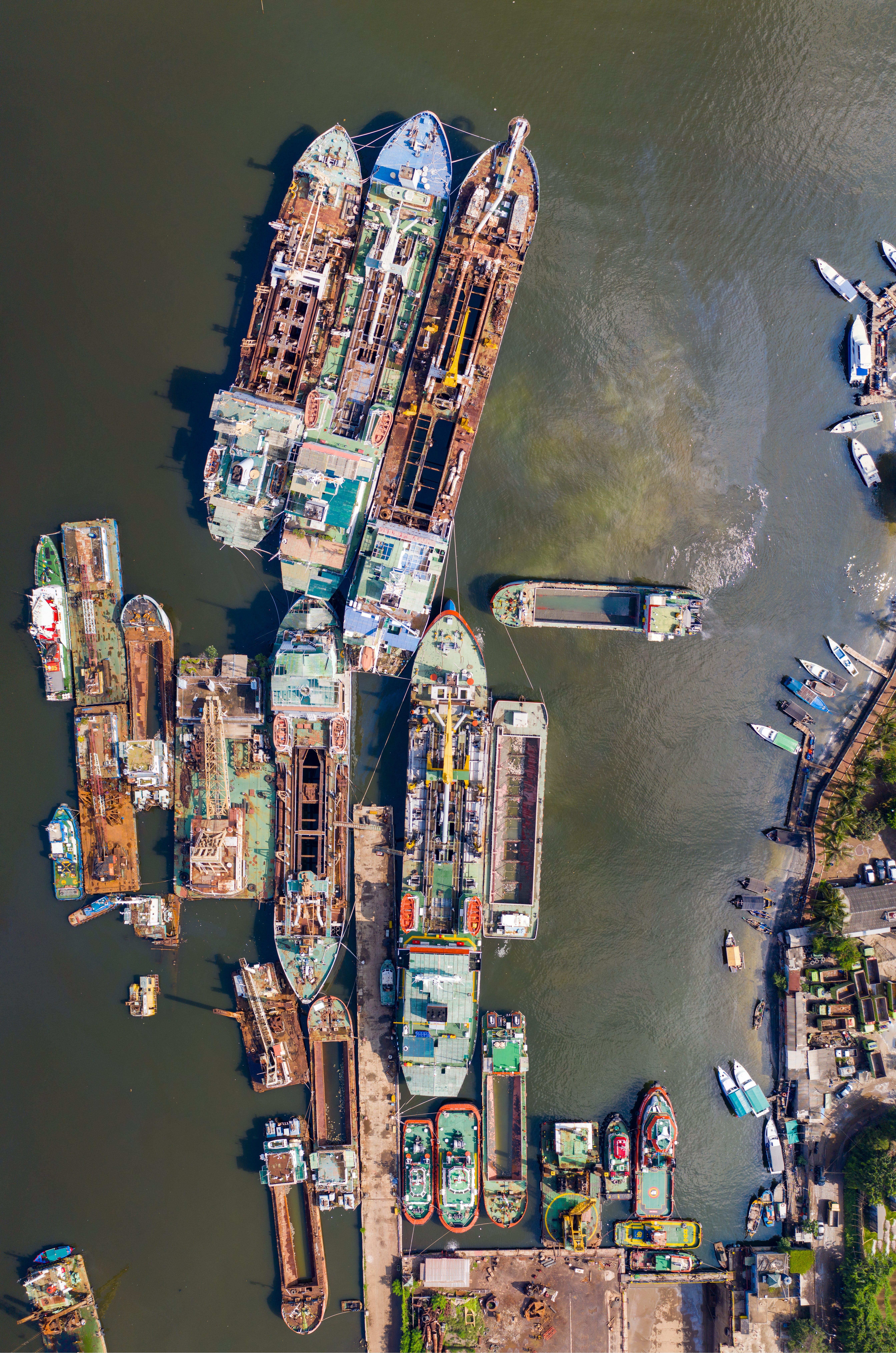 Ảnh lưu trữ miễn phí về bắn từ trên không, biển, hệ thống giao thông, Indonesia