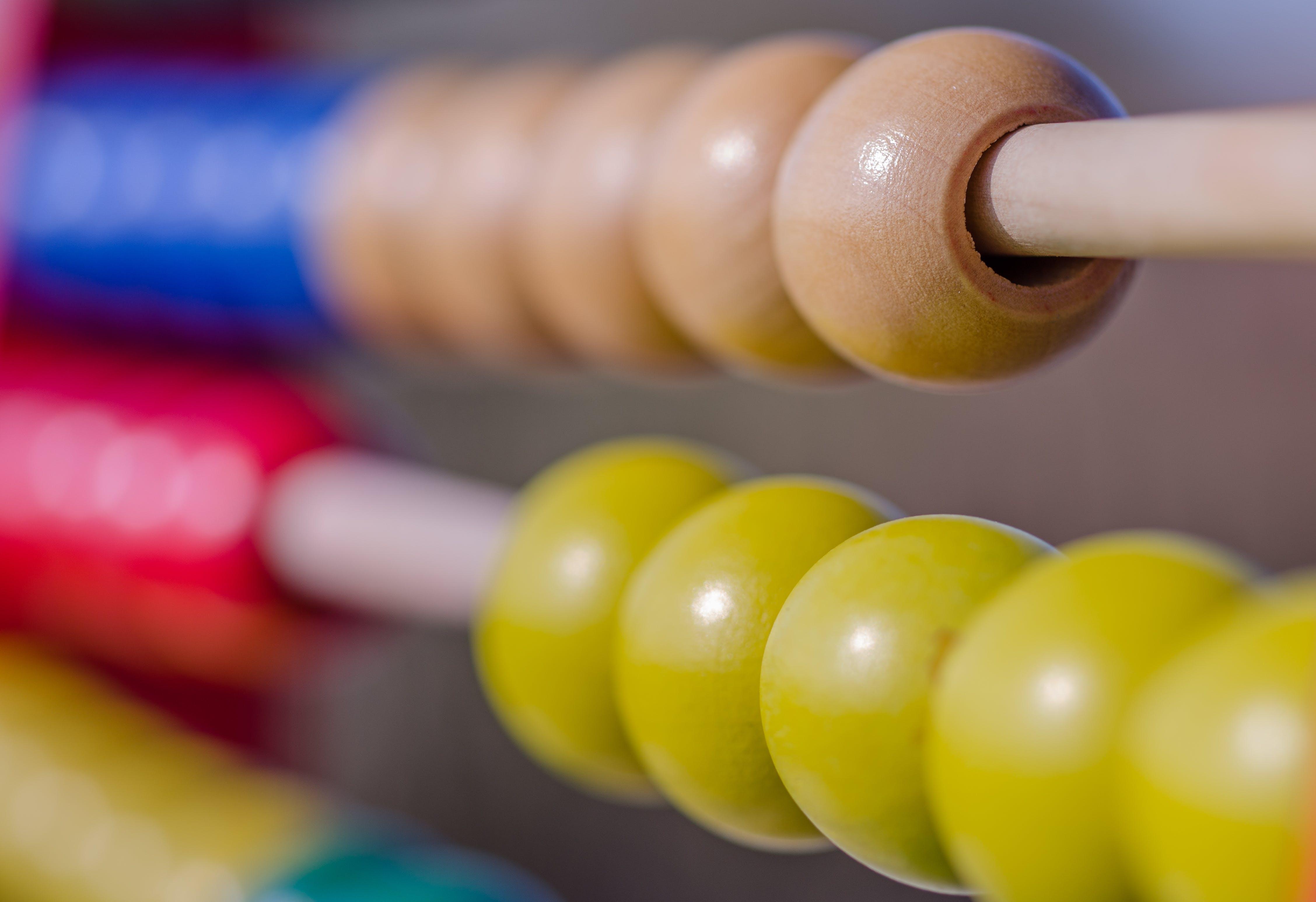 Free stock photo of wood, office, mathematics, colorful