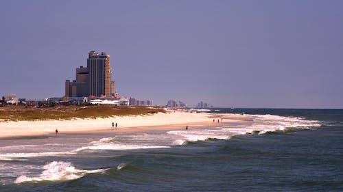 Free stock photo of beach ocean landscape summer people