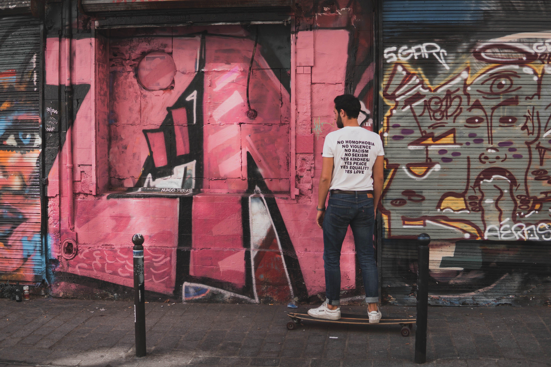 Gratis stockfoto met designen, graffiti, iemand, kerel