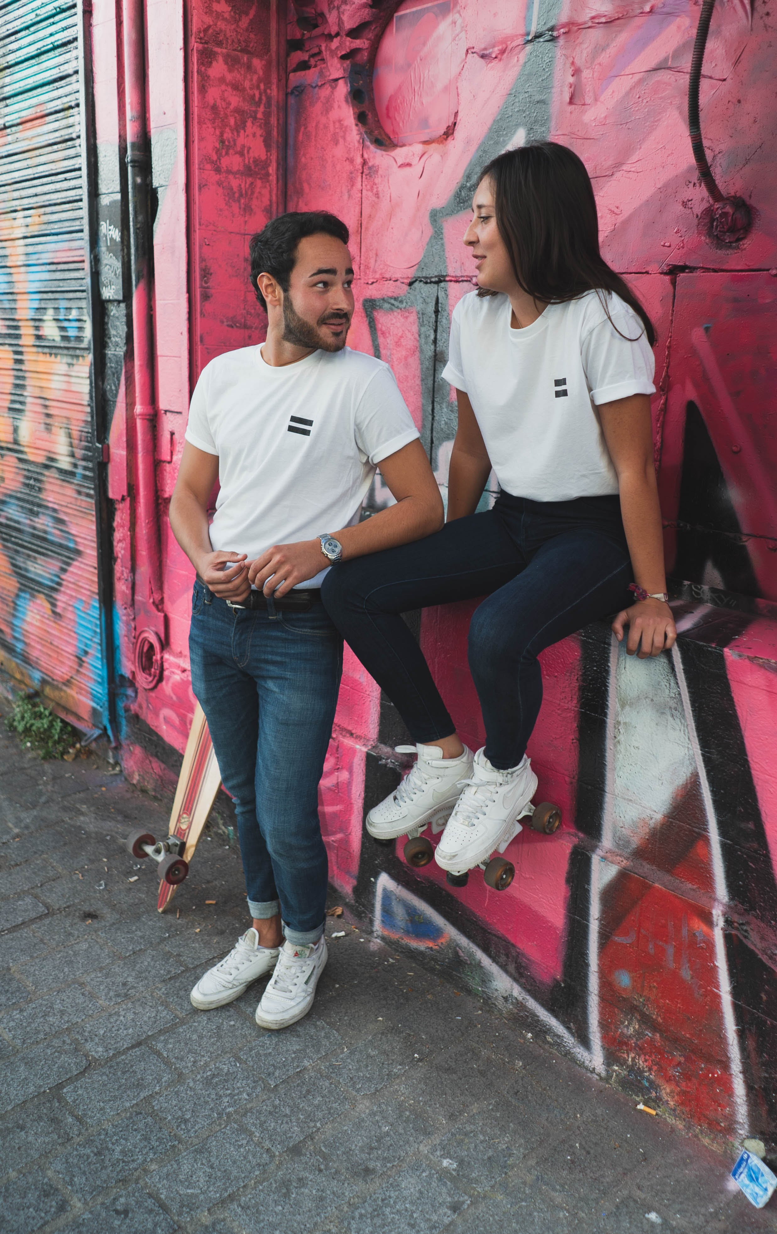 Free stock photo of city, couple, equality, france