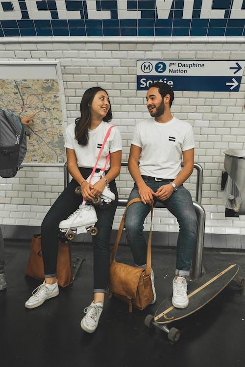Foto profissional grátis de alunos, amor, casal, cidade