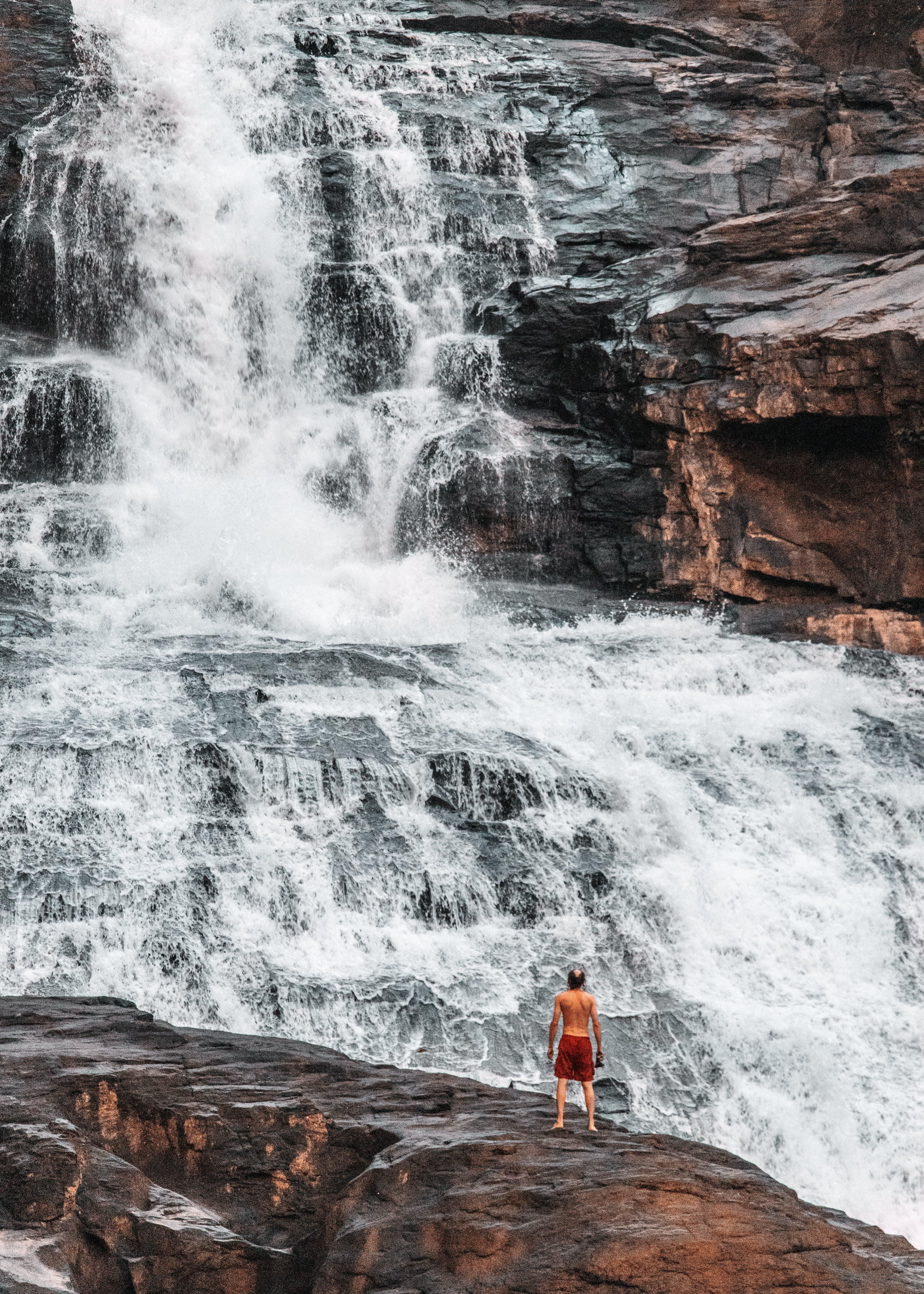 Free stock photo of sri lanka, waterfall