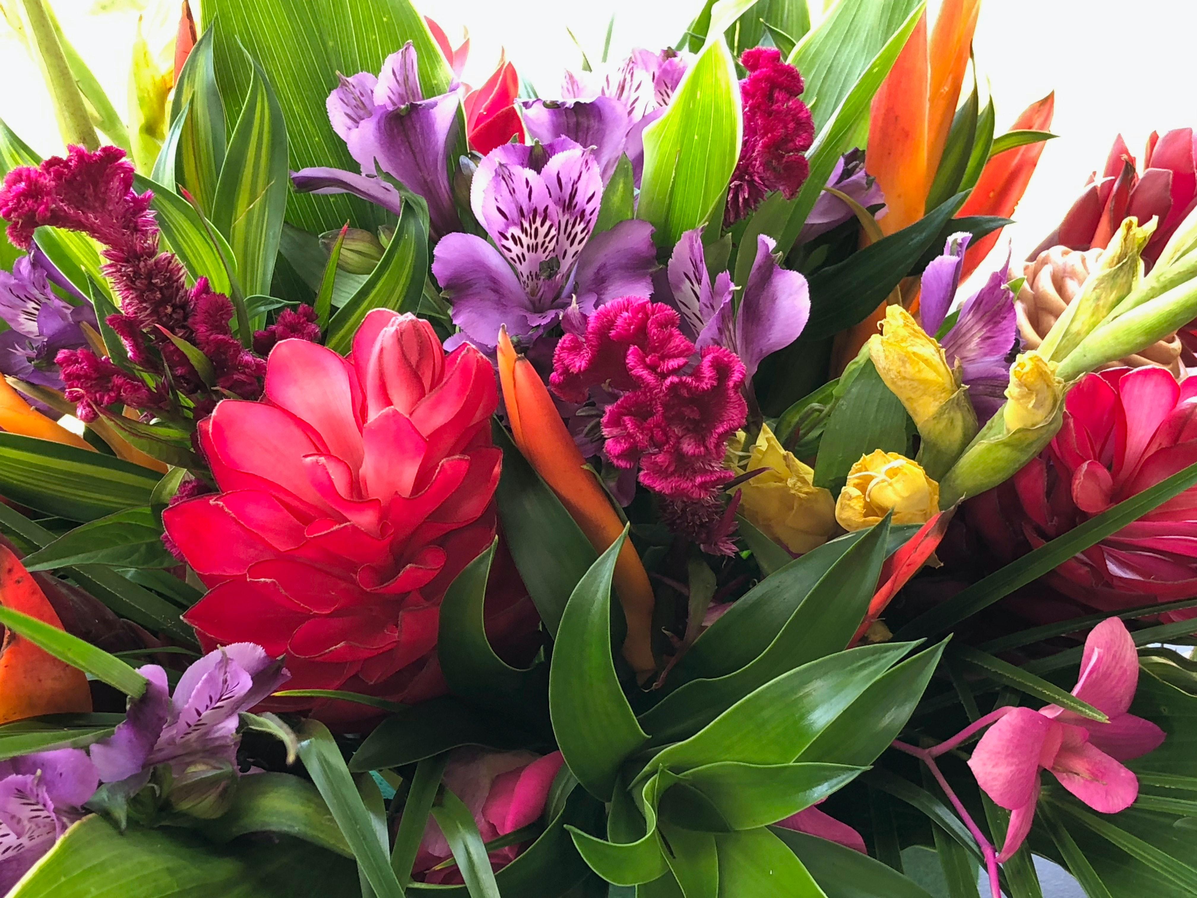 Photo Gratuite De Bouquet De Fleurs Carte Danniversaire