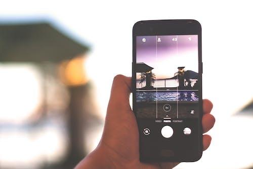Free stock photo of camera, sunset, tourism