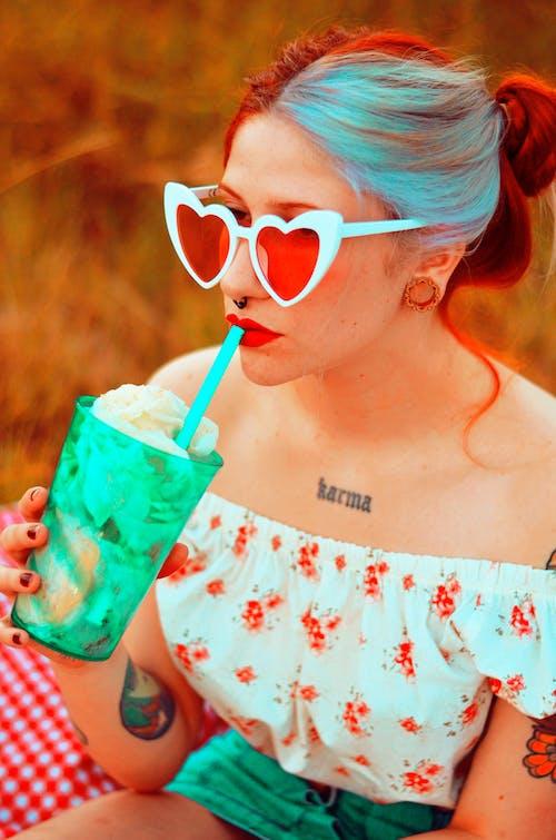 คลังภาพถ่ายฟรี ของ ขิง, ดอกไม้, รูปหัวใจ, สีสัน