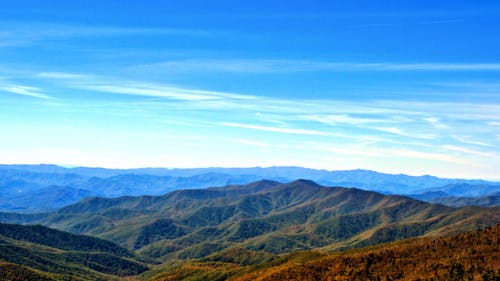 Free stock photo of mountain landscape smoky-mountains tennessee