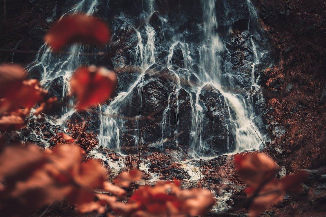 ธรรมชาติ, น้ำตก, หิน
