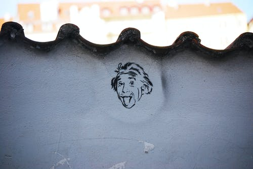 塗鴉, 畫圖, 艾尔伯特爱因斯坦 的 免费素材照片