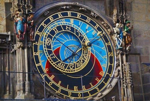 天文钟, 布拉格, 時間 的 免费素材照片