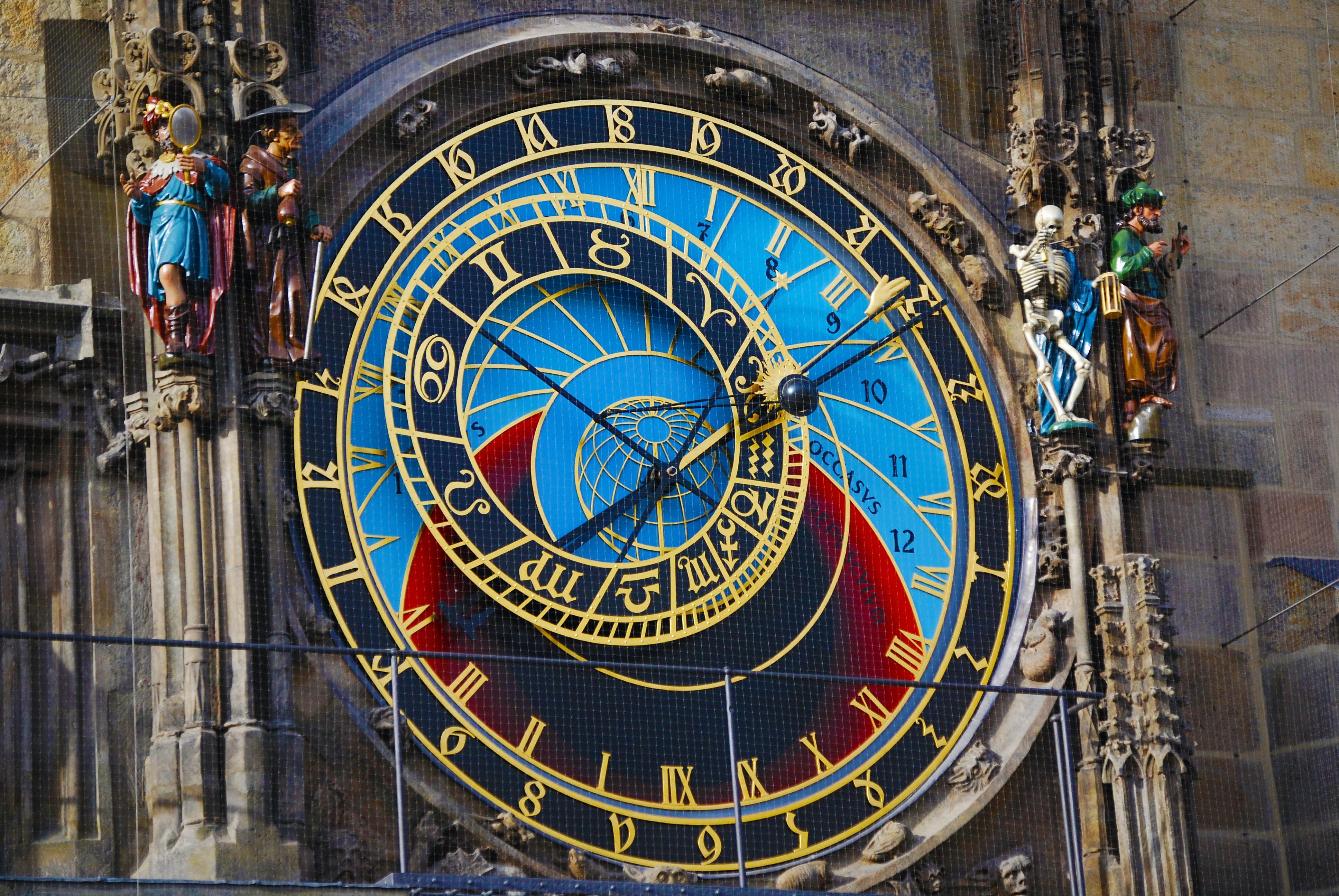 Free Stock Photo Of Astronomical Clock Prague Time