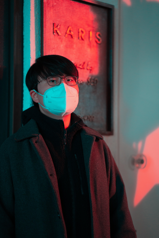 Kostnadsfri bild av asiatisk man, man, mask, person